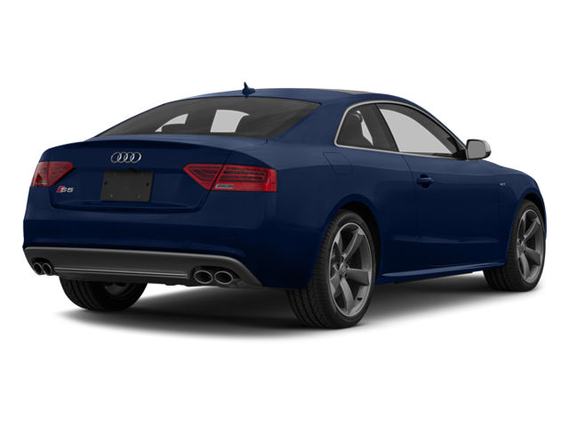 Estoril Blue Crystal Effect 2014 Audi S5 Pictures S5 Coupe 2D S5 Premium Plus AWD photos rear view