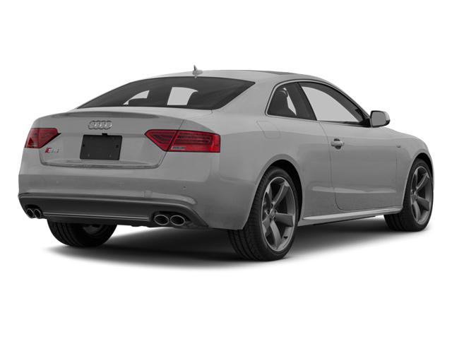 Ice Silver Metallic 2014 Audi S5 Pictures S5 Coupe 2D S5 Premium Plus AWD photos rear view