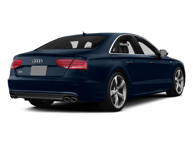 Night Blue Pearl Effect 2014 Audi S8 Pictures S8 Sedan 4D S8 AWD V8 Turbo photos rear view