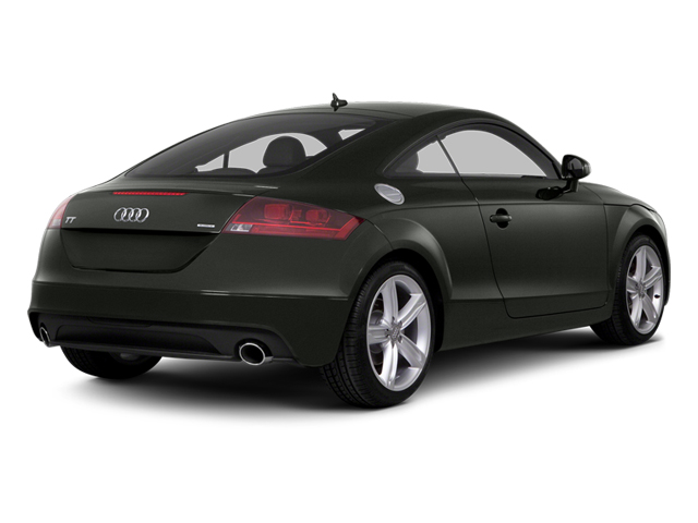 Daytona Gray Pearl Effect 2014 Audi TT Pictures TT Coupe 2D AWD photos rear view