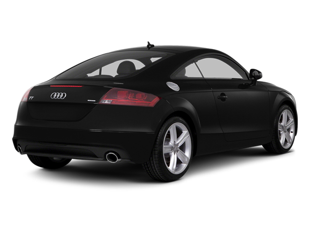 Phantom Black Pearl Effect 2014 Audi TT Pictures TT Coupe 2D AWD photos rear view