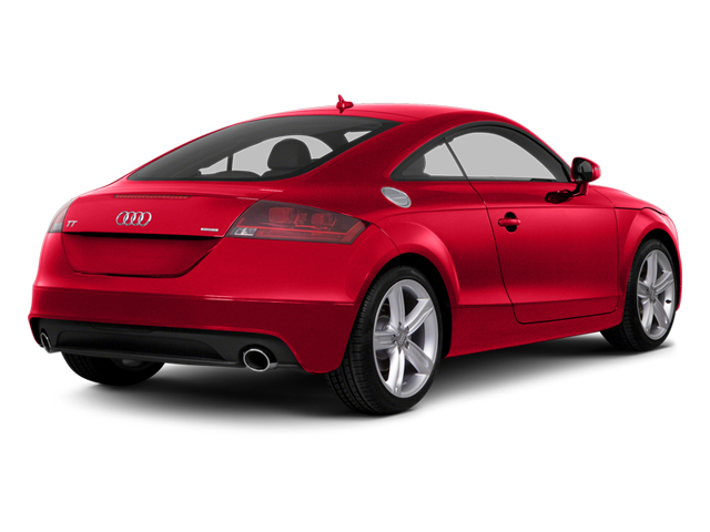 Misano Red Pearl Effect 2014 Audi TT Pictures TT Coupe 2D AWD photos rear view