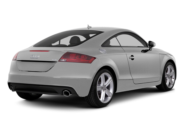 Ice Silver Metallic 2014 Audi TT Pictures TT Coupe 2D AWD photos rear view
