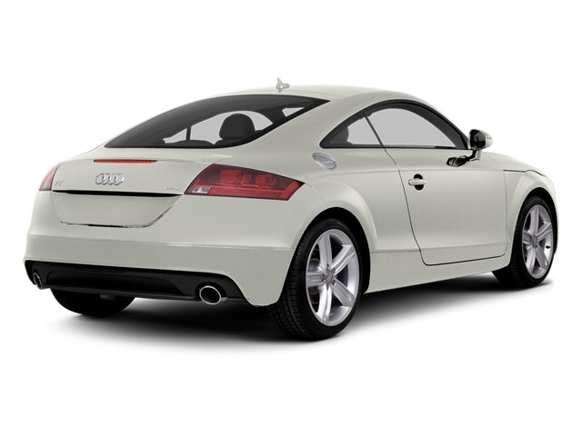 Ibis White 2014 Audi TT Pictures TT Coupe 2D AWD photos rear view