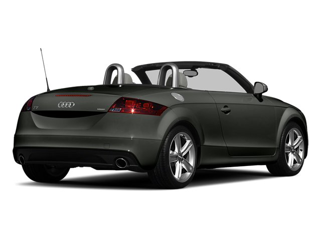 Daytona Gray Pearl Effect/Black Roof 2014 Audi TT Pictures TT Roadster 2D AWD photos rear view