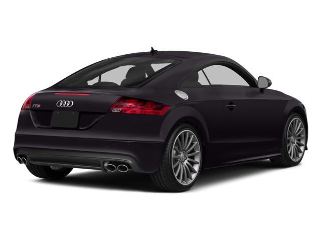 Panther Black Crystal Effect 2014 Audi TTS Pictures TTS Coupe 2D AWD photos rear view