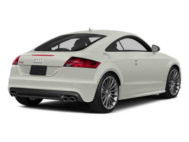Ibis White 2014 Audi TTS Pictures TTS Coupe 2D AWD photos rear view