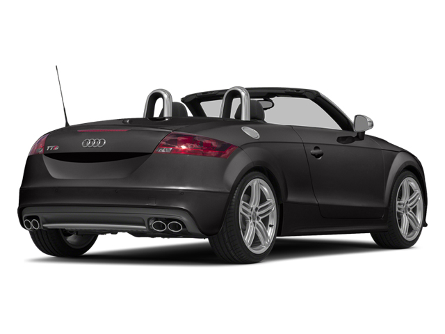 Oolong Gray Metallic/Black Roof 2014 Audi TTS Pictures TTS Roadster 2D AWD photos rear view
