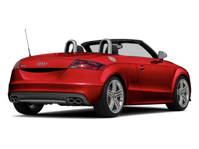 Misano Red Pearl Effect/Black Roof 2014 Audi TTS Pictures TTS Roadster 2D AWD photos rear view