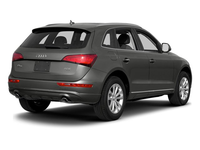 Monsoon Gray Metallic 2014 Audi Q5 Pictures Q5 Util 4D TDI Premium Plus S-Line AWD photos rear view