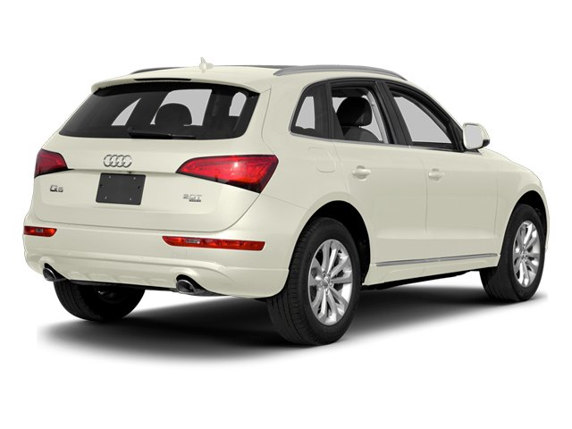 Glacier White Metallic 2014 Audi Q5 Pictures Q5 Util 4D TDI Premium Plus S-Line AWD photos rear view