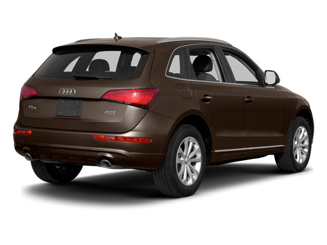 Teak Brown Metallic 2014 Audi Q5 Pictures Q5 Utility 4D TDI Prestige S-Line AWD photos rear view
