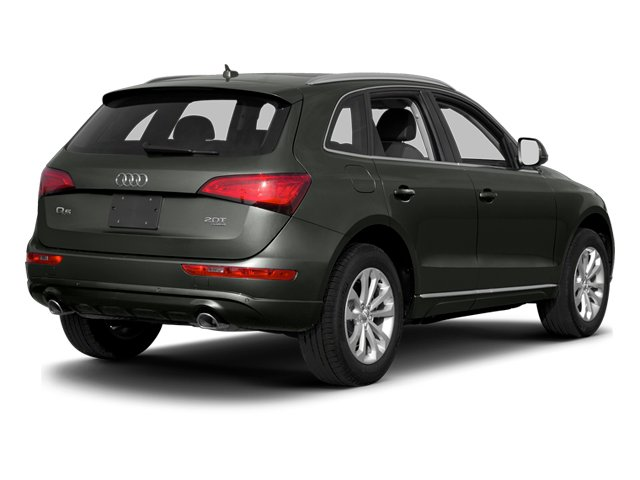 Daytona Gray Pearl Effect 2014 Audi Q5 Pictures Q5 Utility 4D TDI Prestige S-Line AWD photos rear view