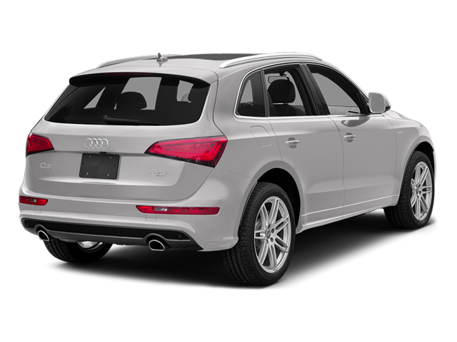 Cuvee Silver Metallic 2014 Audi Q5 Pictures Q5 Utility 4D 2.0T Prestige AWD Hybrid photos rear view