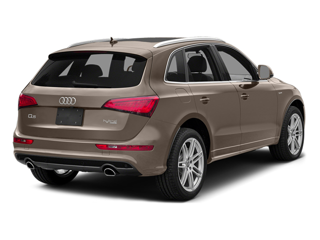 Maya Brown Metalilc 2014 Audi Q5 Pictures Q5 Utility 4D 2.0T Prestige AWD Hybrid photos rear view