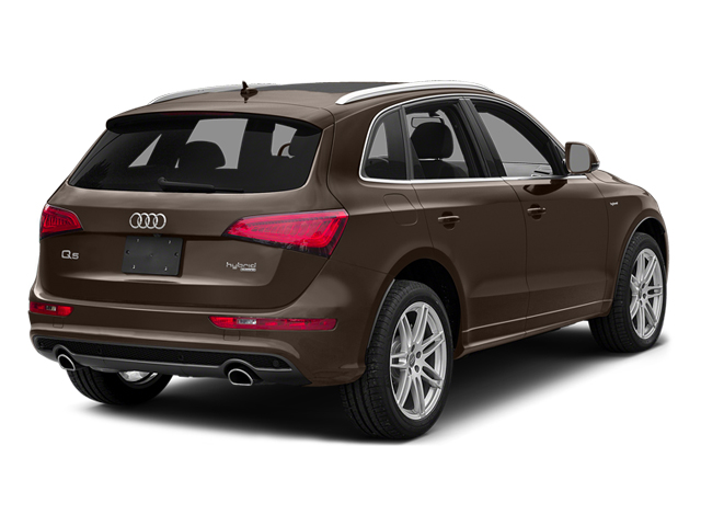 Teak Brown Metallic 2014 Audi Q5 Pictures Q5 Utility 4D 2.0T Prestige AWD Hybrid photos rear view