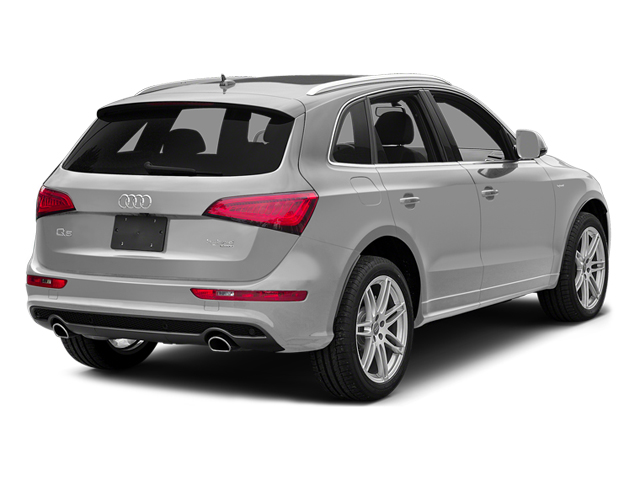 Ice Silver Metallic 2014 Audi Q5 Pictures Q5 Utility 4D 2.0T Prestige AWD Hybrid photos rear view