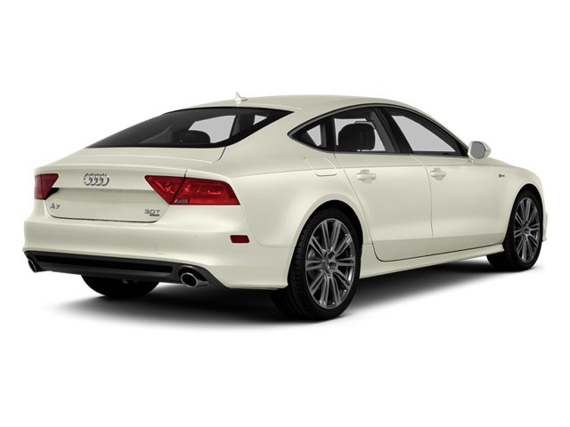 Glacier White Metallic 2014 Audi A7 Pictures A7 Sedan 4D TDI Prestige AWD T-Diesel photos rear view