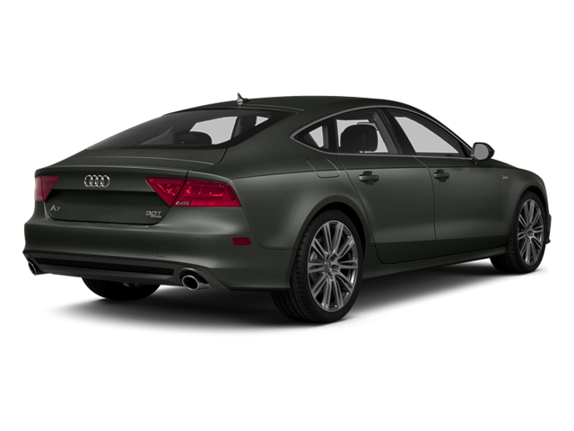 Daytona Gray Pearl Effect 2014 Audi A7 Pictures A7 Sedan 4D TDI Prestige AWD T-Diesel photos rear view