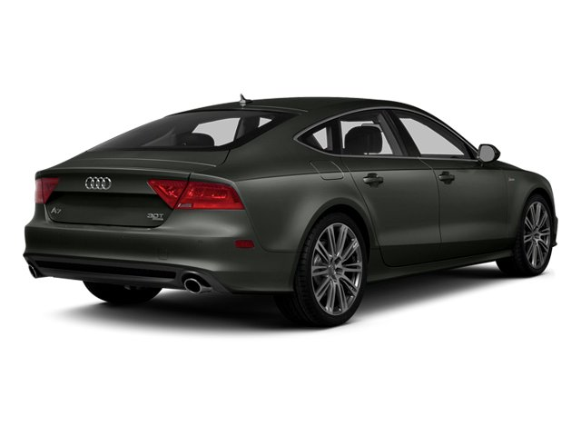 Daytona Gray Pearl Effect 2014 Audi A7 Pictures A7 Sedan 4D 3.0T Prestige AWD photos rear view