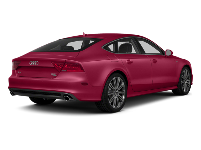 Garnet Red Pearl Effect 2014 Audi A7 Pictures A7 Sedan 4D TDI Prestige AWD T-Diesel photos rear view