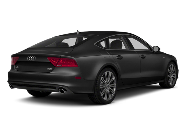 Brilliant Black 2014 Audi A7 Pictures A7 Sedan 4D TDI Prestige AWD T-Diesel photos rear view