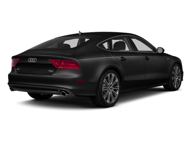Phantom Black Pearl Effect 2014 Audi A7 Pictures A7 Sedan 4D 3.0T Prestige AWD photos rear view
