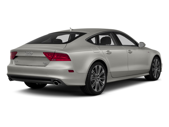 Quartz Gray Metallic 2014 Audi A7 Pictures A7 Sedan 4D 3.0T Prestige AWD photos rear view