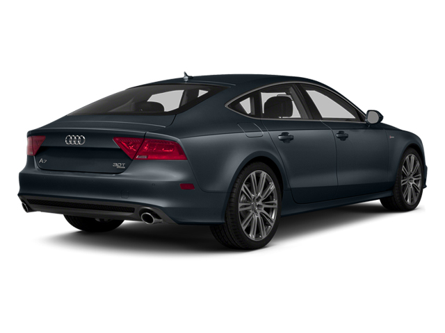 Moonlight Blue Metallic 2014 Audi A7 Pictures A7 Sedan 4D 3.0T Prestige AWD photos rear view