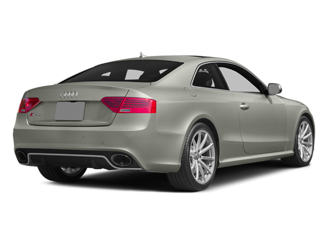 Prism Silver Crystal Effect 2014 Audi RS 5 Pictures RS 5 Coupe 2D RS5 AWD V8 photos rear view