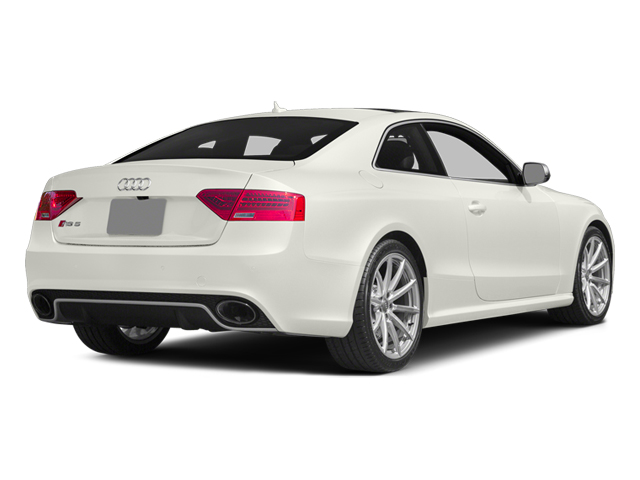 Ibis White 2014 Audi RS 5 Pictures RS 5 Coupe 2D RS5 AWD V8 photos rear view
