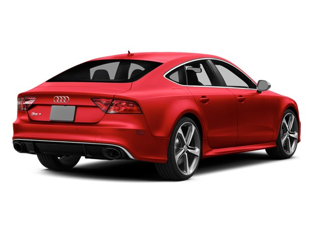 Misano Red Pearl Effect 2014 Audi RS 7 Pictures RS 7 Sedan 4D Prestige AWD photos rear view