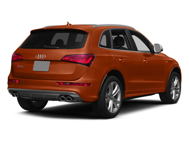 Volcano Red Metallic 2014 Audi SQ5 Pictures SQ5 Utility 4D Premium Plus AWD V6 photos rear view