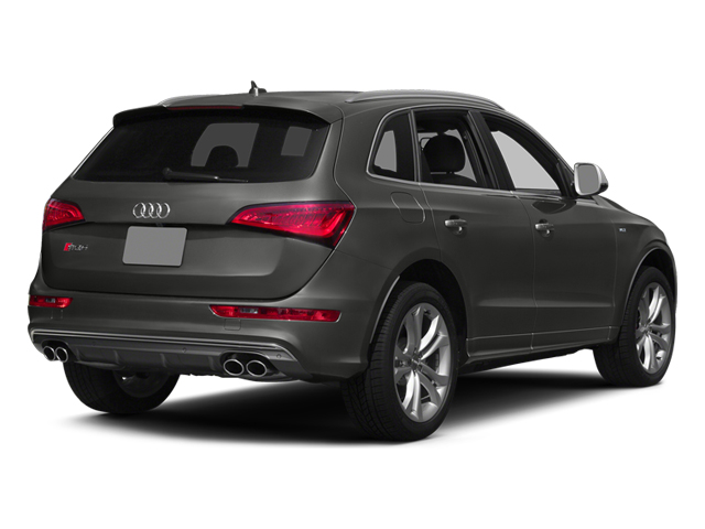 Lava Gray Pearl Effect 2014 Audi SQ5 Pictures SQ5 Utility 4D Premium Plus AWD V6 photos rear view
