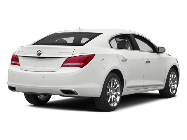 Summit White 2014 Buick LaCrosse Pictures LaCrosse Sedan 4D Leather V6 photos rear view