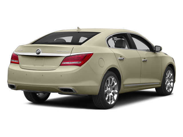 Champagne Silver Metallic 2014 Buick LaCrosse Pictures LaCrosse Sedan 4D Leather V6 photos rear view