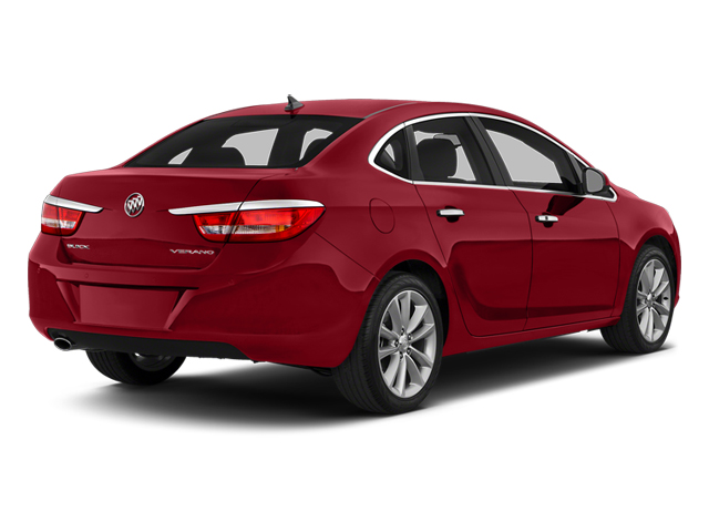 Crystal Red Tintcoat 2014 Buick Verano Pictures Verano Sedan 4D Leather I4 photos rear view