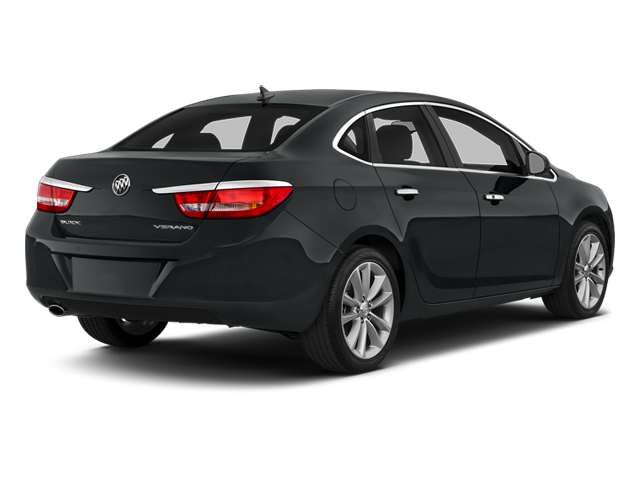 Smoky Gray Metallic 2014 Buick Verano Pictures Verano Sedan 4D Leather I4 photos rear view