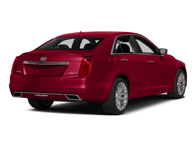 Red Obsession Tintcoat 2014 Cadillac CTS Sedan Pictures CTS Sedan 4D Performance V6 photos rear view