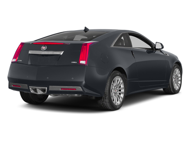 Phantom Gray Metallic 2014 Cadillac CTS Coupe Pictures CTS Coupe 2D Premium AWD V6 photos rear view