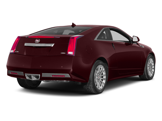Crimson Red Metallic 2014 Cadillac CTS Coupe Pictures CTS Coupe 2D Premium AWD V6 photos rear view