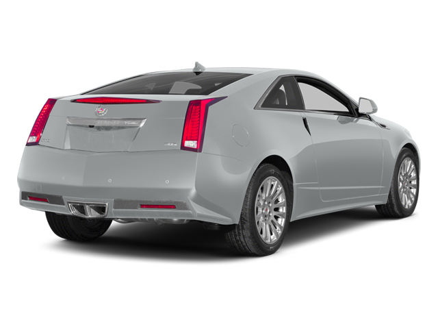 Radiant Silver Metallic 2014 Cadillac CTS Coupe Pictures CTS Coupe 2D Premium AWD V6 photos rear view