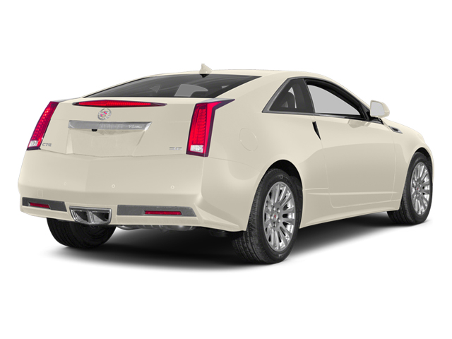 White Diamond Tricoat 2014 Cadillac CTS Coupe Pictures CTS Coupe 2D Premium AWD V6 photos rear view