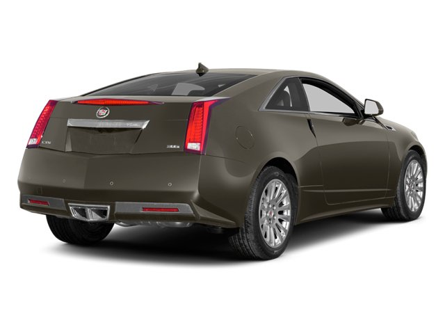 Mocha Steel Metallic 2014 Cadillac CTS Coupe Pictures CTS Coupe 2D Premium AWD V6 photos rear view