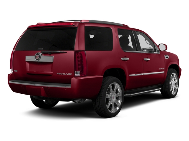 Crystal Red Tintcoat 2014 Cadillac Escalade Pictures Escalade Utility 4D Luxury AWD V8 photos rear view