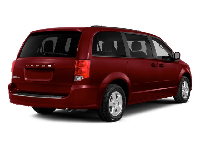 Deep Cherry Red Crystal Pearlcoat 2014 Dodge Grand Caravan Pictures Grand Caravan Grand Caravan SXT V6 photos rear view