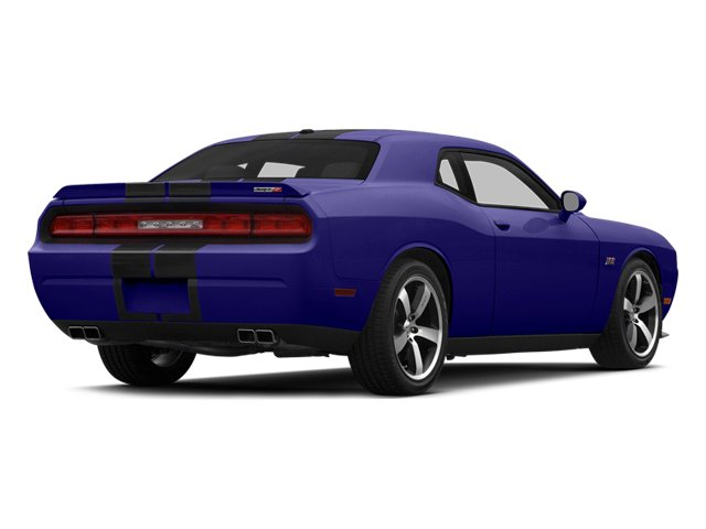 Plum Crazy Pearlcoat 2014 Dodge Challenger Pictures Challenger Coupe 2D SRT-8 V8 photos rear view