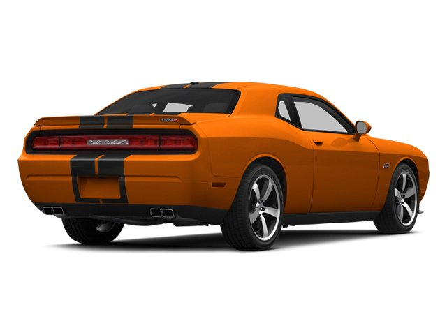 Header Orange Clearcoat 2014 Dodge Challenger Pictures Challenger Coupe 2D SRT-8 V8 photos rear view