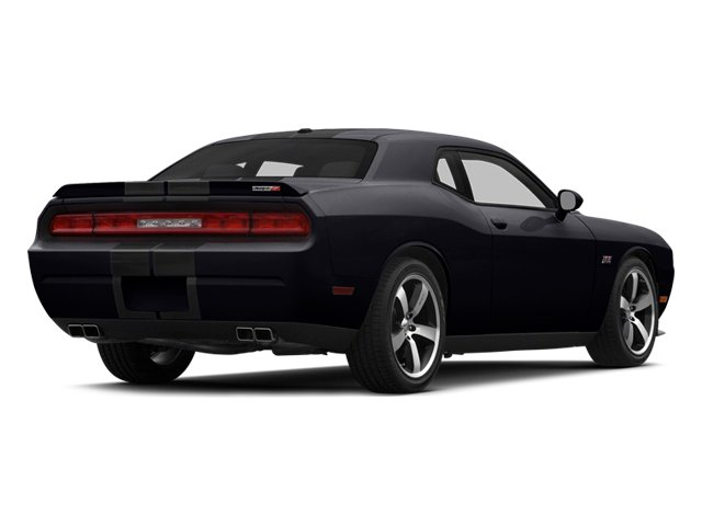 Phantom Black Tri-Coat Pearl 2014 Dodge Challenger Pictures Challenger Coupe 2D SRT-8 V8 photos rear view