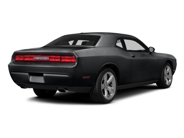 Granite Crystal Metallic Clearcoat 2014 Dodge Challenger Pictures Challenger Coupe 2D R/T V8 photos rear view